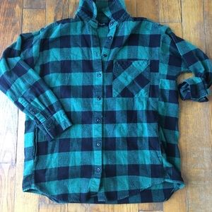 Madewell flannel with pockets